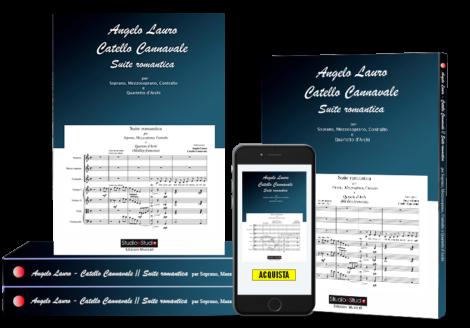 Suite Romantica per Soprano, Mezzosoprano, Contralto e Quartetto d'Archi-StudioeStudio - Studio di Registrazione Edizioni Musicali